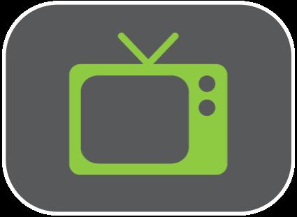 Icône télévision