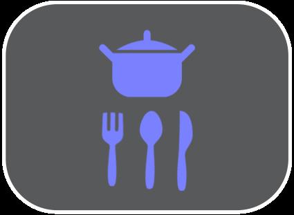 Inventaire maisonnette bleu lavande