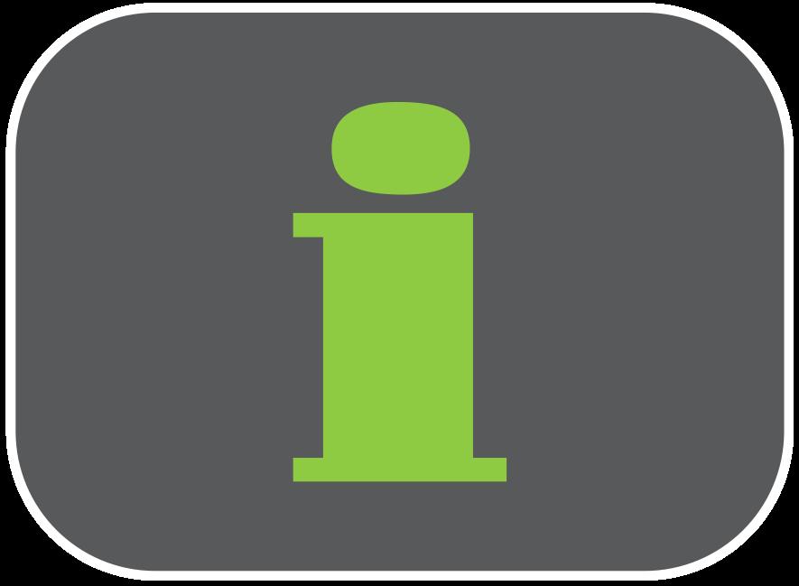 Icône infos pratiques