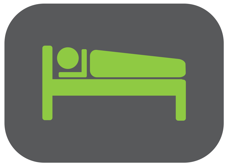 Icône linge de lit